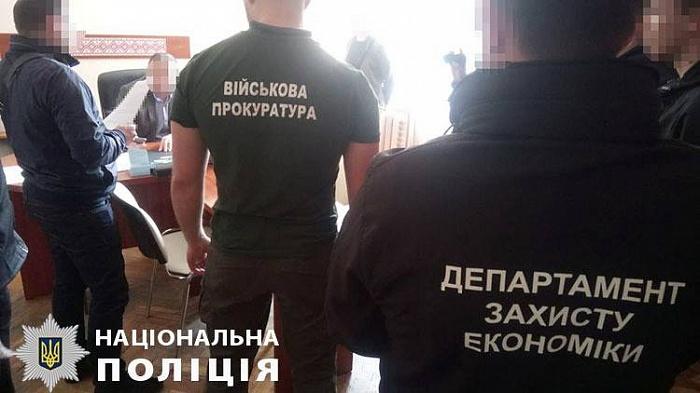 Чиновник управления охраны здоровья Житомирской ОГА задержан при получении взятки 10 000 гривен (ФОТО)